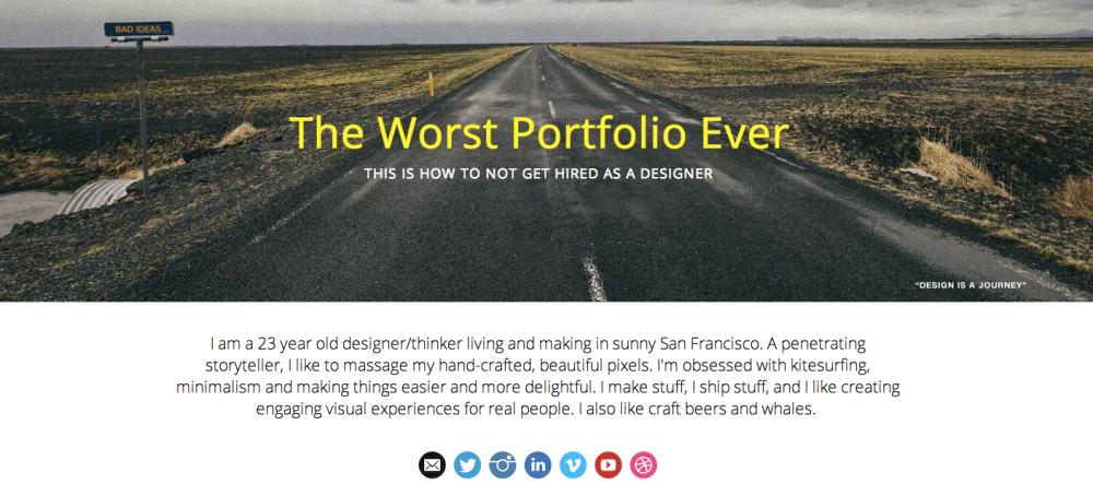 worst-portfolio-ever