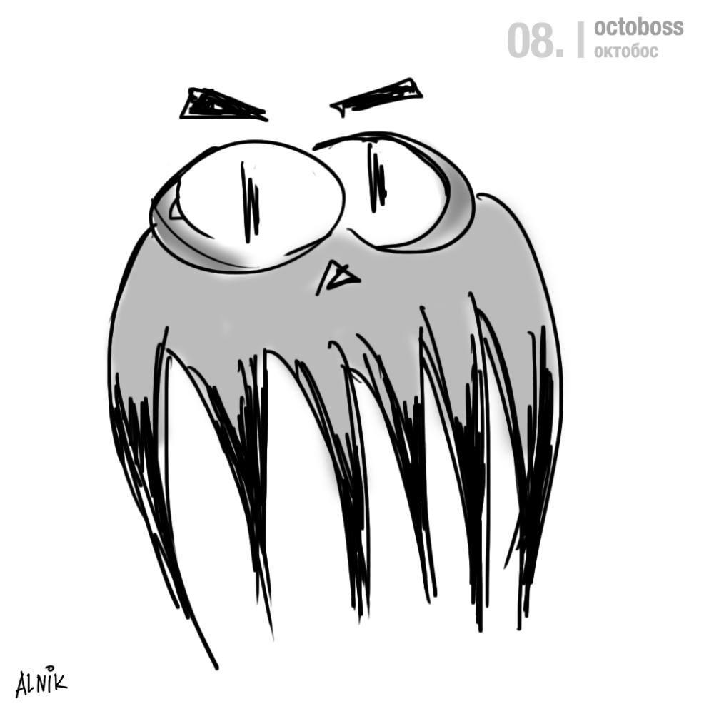 99 creatures: 08. octoboss