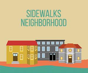 sidewalks neighbourhood