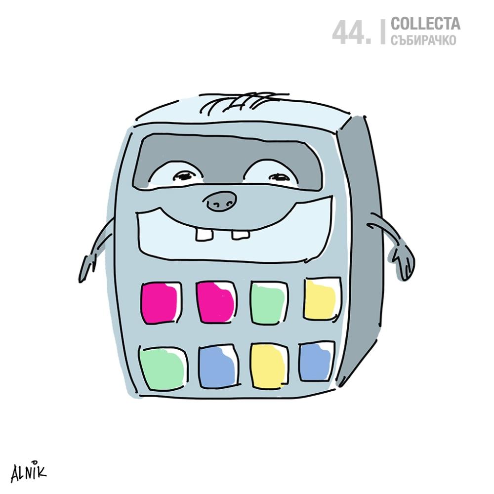 44. collecta