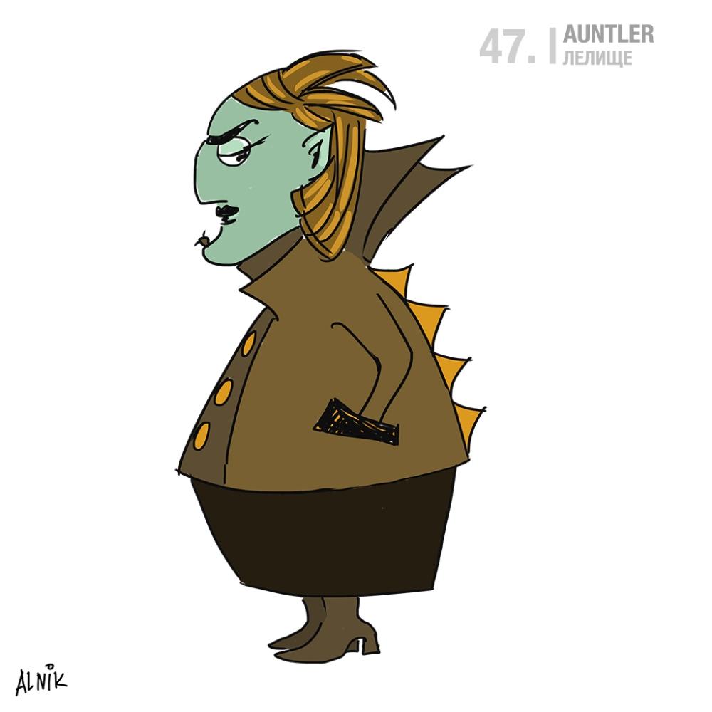 47. auntler