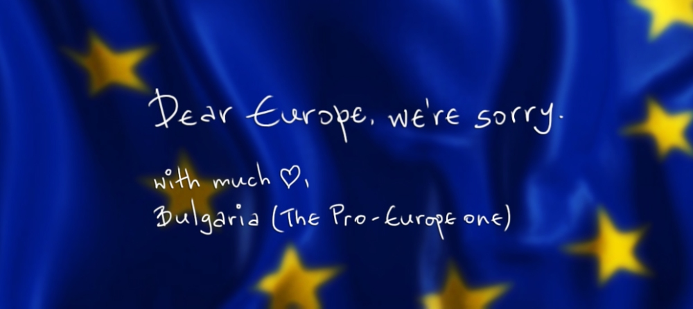 sorry europe by bulgaria