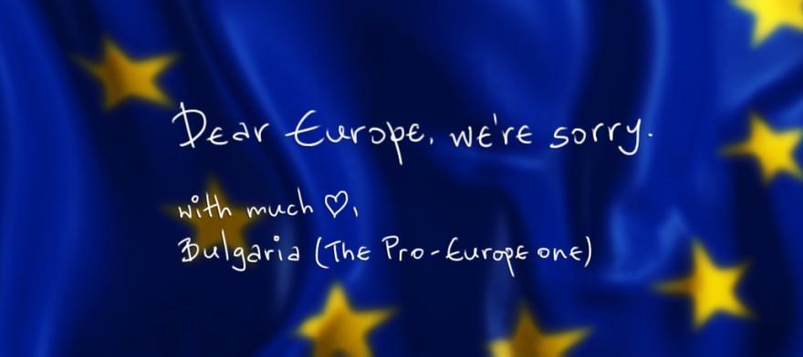 sorry europe by bulgaria